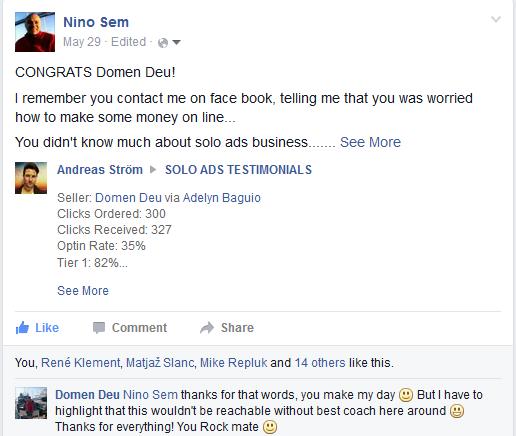 Nino Sem Coaching Testimonial Domen Deu